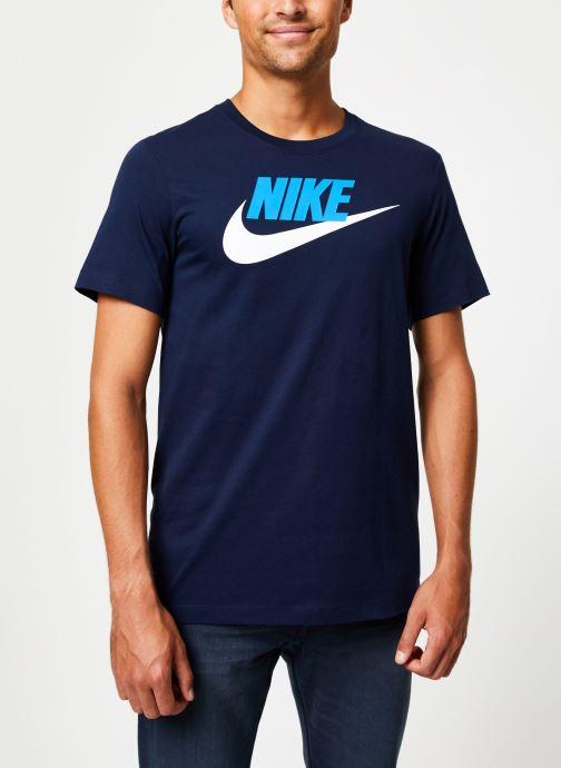 Kleding Nike Tee-Shirt Homme Nike Sportswear Futura Blauw detail