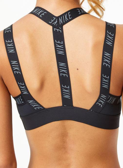 Vêtements Nike Brassière de training Femme Nike Indy logo Noir vue face