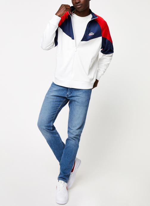 Vêtements Nike Veste Homme Nike Sportswear heritage Blanc vue bas / vue portée sac