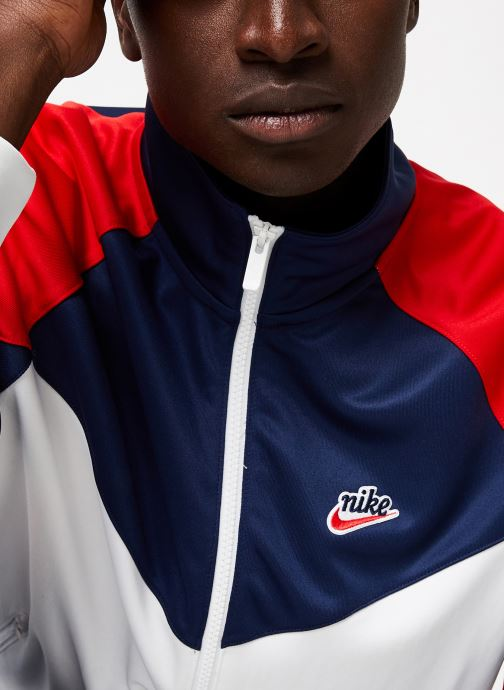Vêtements Nike Veste Homme Nike Sportswear heritage Blanc vue face