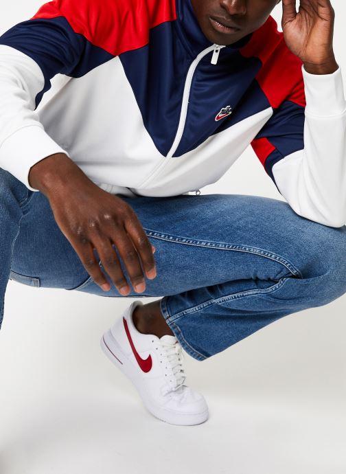 Vêtements Nike Veste Homme Nike Sportswear heritage Blanc vue détail/paire