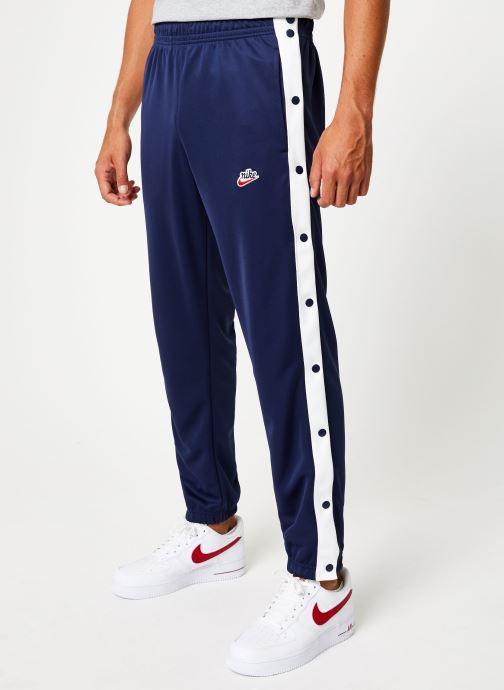 Vêtements Nike Pantalon Homme Nike Sportswear Heritage avec Pressions Bleu vue détail/paire