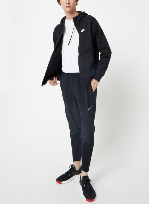 Vêtements Nike Veste zippée Homme Nike Sportswear Club Noir vue bas / vue portée sac