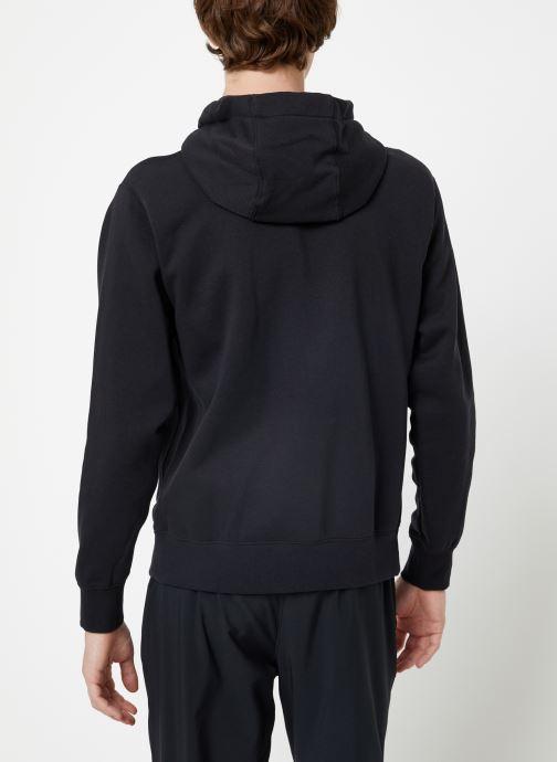 Vêtements Nike Veste zippée Homme Nike Sportswear Club Noir vue portées chaussures