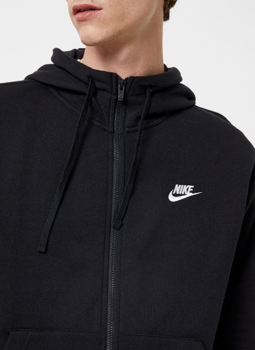 Kleding Nike Veste zippée Homme Nike Sportswear Club Zwart voorkant