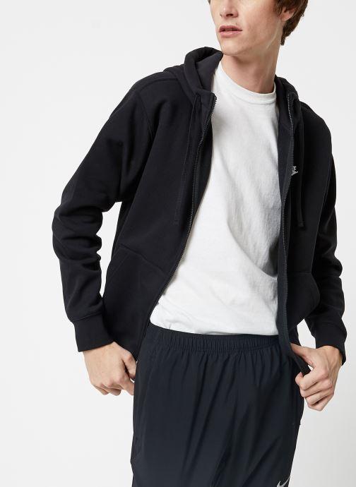 Tøj Nike Veste zippée Homme Nike Sportswear Club Sort Se fra højre