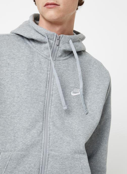 Vêtements Nike Veste zippée Homme Nike Sportswear Club Gris vue face