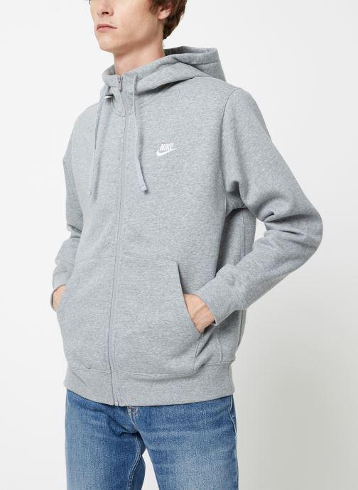 Vêtements Nike Veste zippée Homme Nike Sportswear Club Gris vue détail/paire