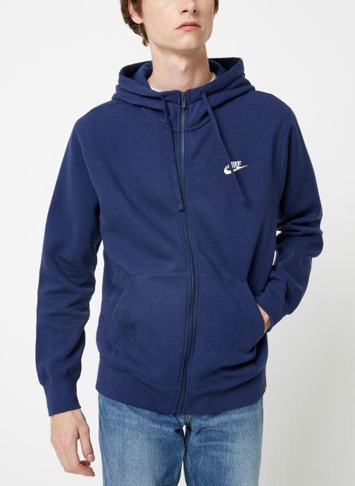 Vêtements Nike Veste zippée Homme Nike Sportswear Club Bleu vue détail/paire