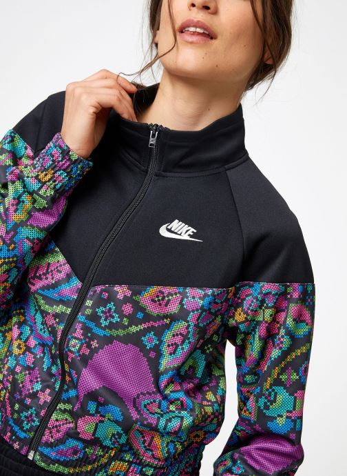 Vêtements Nike Veste Courte Femme Nike Sportswear Futura Noir vue face