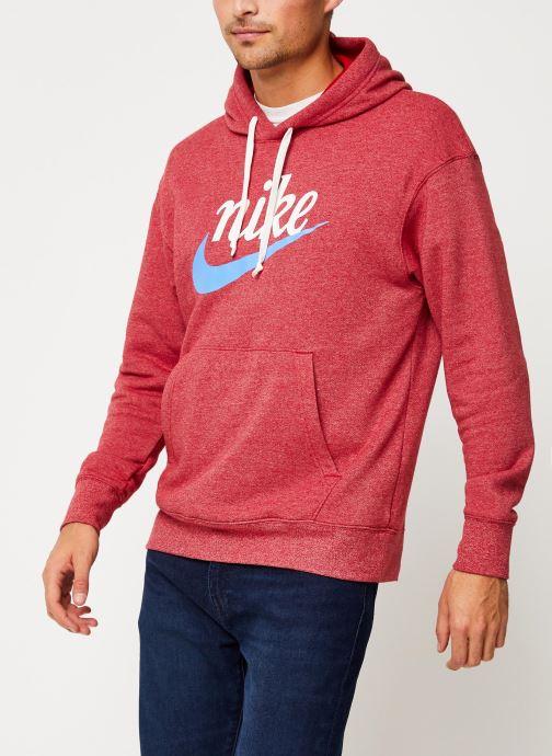 Vêtements Nike Sweat Capuche Homme Nike Sportswear Heritage Bordeaux vue droite