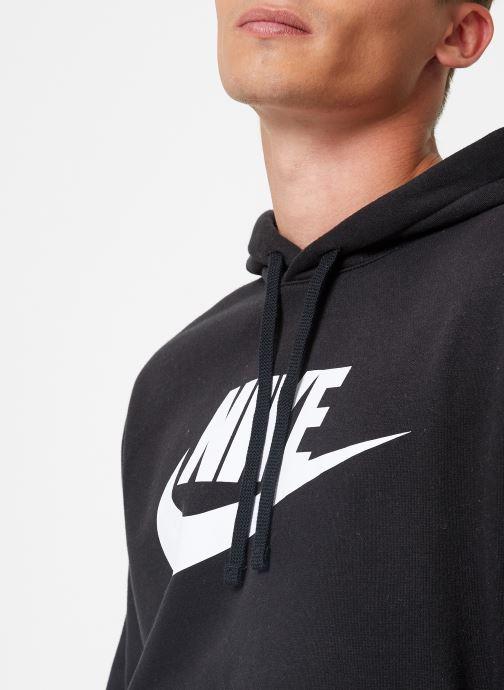 Vêtements Nike Sweat à capuche à motif pour Homme Sportswear Club Noir vue face