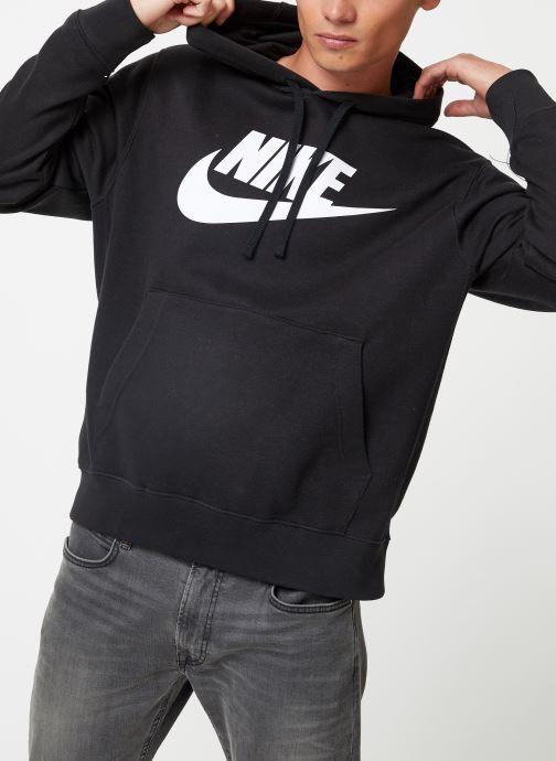 Vêtements Nike Sweat à capuche à motif pour Homme Sportswear Club Noir vue détail/paire