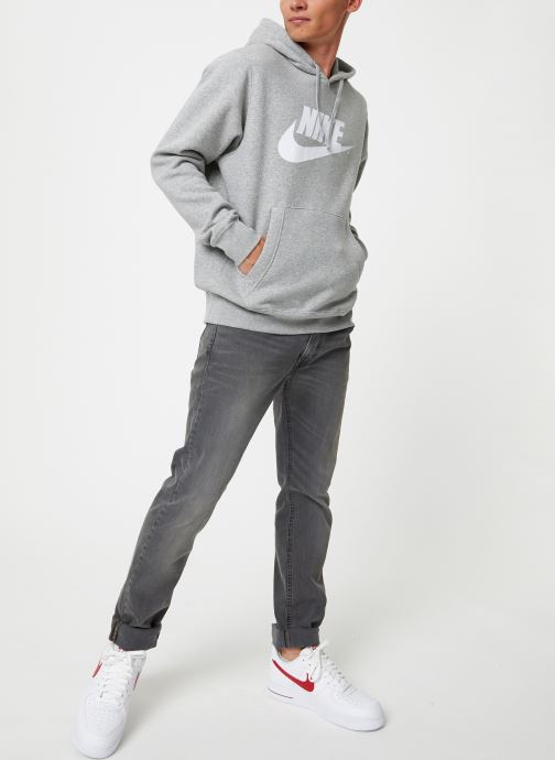Vêtements Nike Sweat à capuche à motif pour Homme Sportswear Club Gris vue bas / vue portée sac