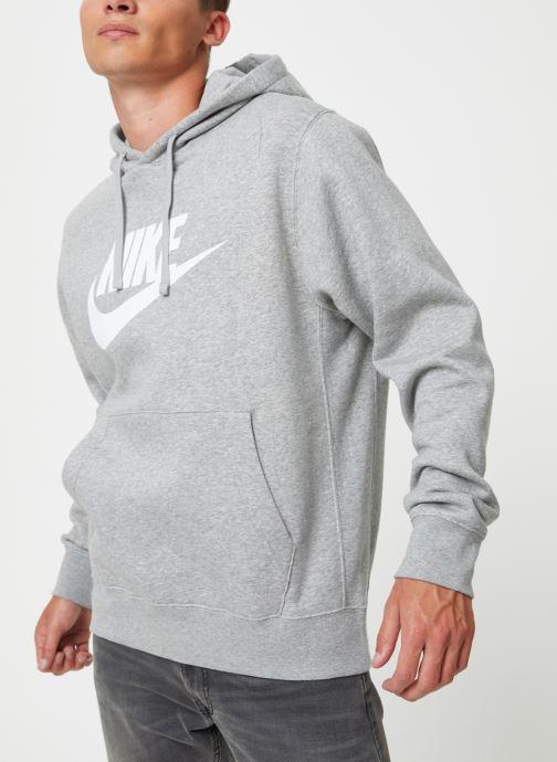 Vêtements Nike Sweat à capuche à motif pour Homme Sportswear Club Gris vue détail/paire