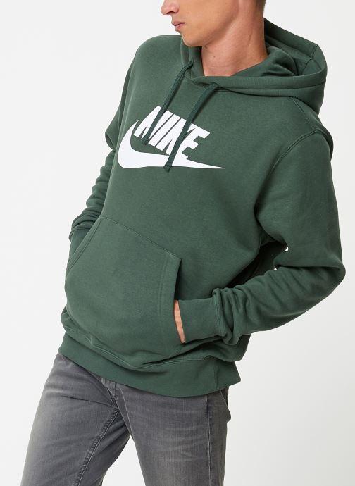 Vêtements Nike Sweat à capuche à motif pour Homme Sportswear Club Vert vue bas / vue portée sac
