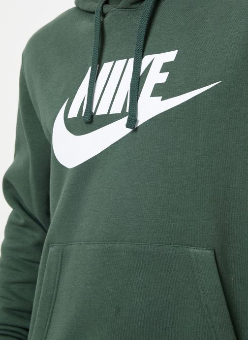 Kleding Nike Sweat à capuche à motif pour Homme Sportswear Club Groen voorkant