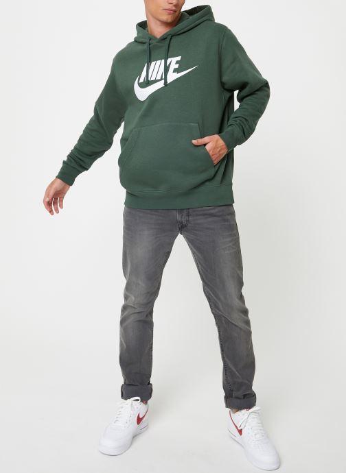 Kleding Nike Sweat à capuche à motif pour Homme Sportswear Club Groen rechts