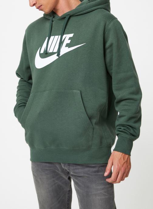 Vêtements Nike Sweat à capuche à motif pour Homme Sportswear Club Vert vue détail/paire