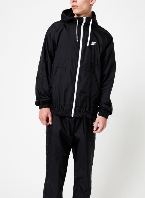 Vêtements Nike Survêtement Homme Woven Nike Sportswear Noir vue droite
