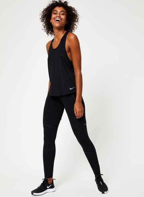 Vêtements Nike Collant de Training femme 7/8 Nike Pro Fierce Noir vue bas / vue portée sac