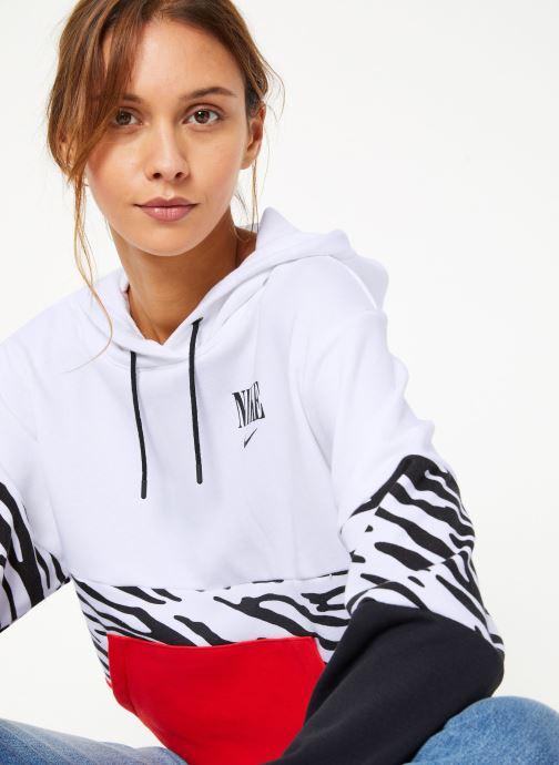 Vêtements Nike Sweat à capuche Femme Nike Sportswear Essential Imprimé Multicolore vue détail/paire