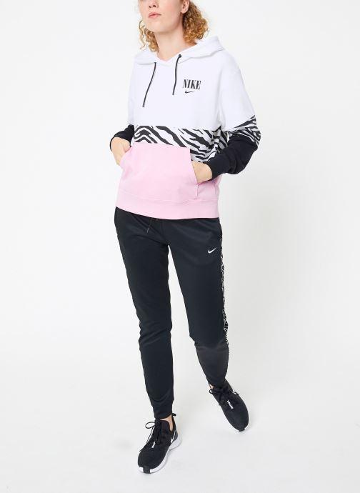 Vêtements Nike Sweat à capuche Femme Nike Sportswear Essential Imprimé Rose vue bas / vue portée sac
