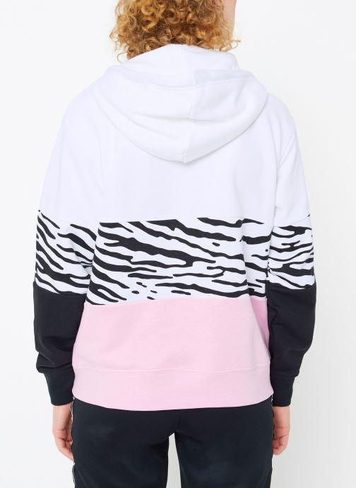 Kleding Nike Sweat à capuche Femme Nike Sportswear Essential Imprimé Roze model