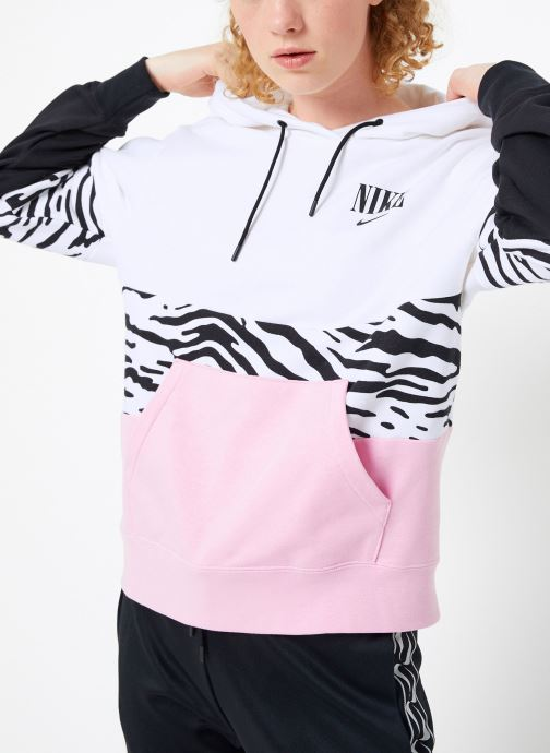 Kleding Nike Sweat à capuche Femme Nike Sportswear Essential Imprimé Roze detail
