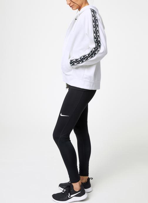 Vêtements Nike Pull Femme Nike Sportswear Logo Blanc vue bas / vue portée sac