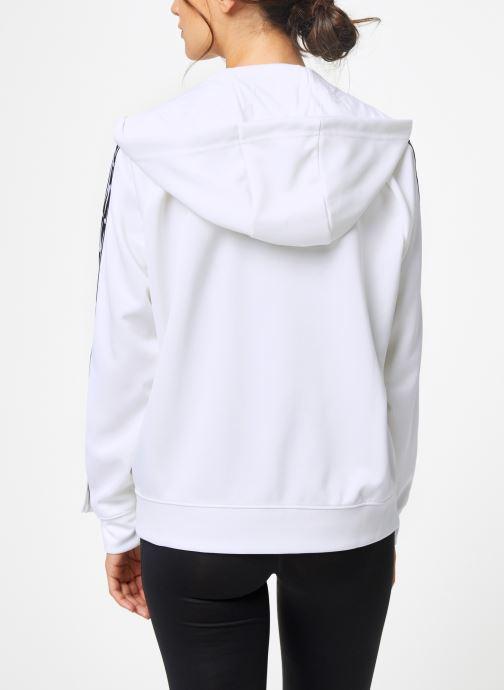 Vêtements Nike Pull Femme Nike Sportswear Logo Blanc vue portées chaussures