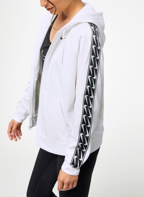 Vêtements Nike Pull Femme Nike Sportswear Logo Blanc vue droite