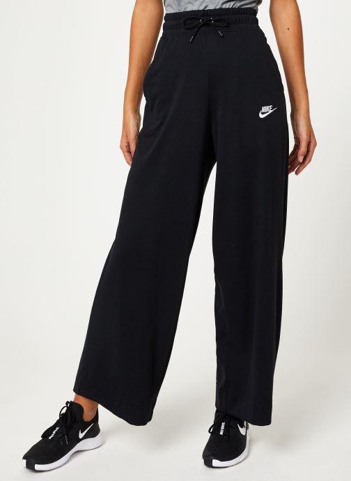Vêtements Nike Pantalon Femme Nike Sportswear bas droit Noir vue détail/paire