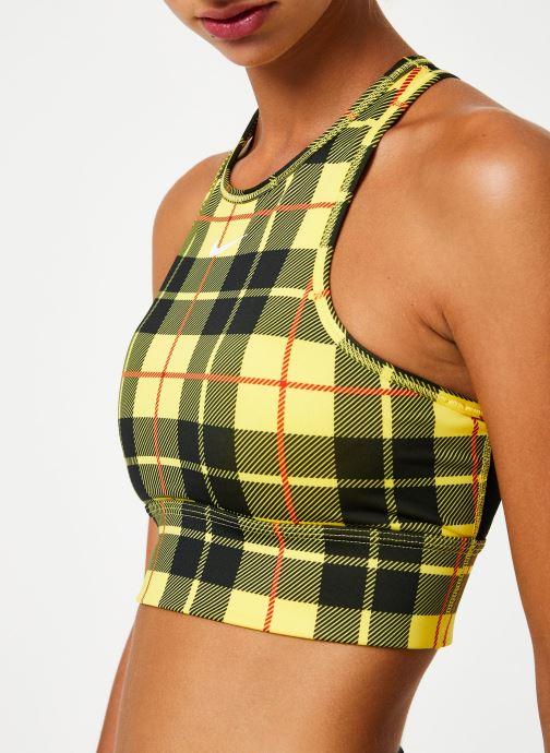 Vêtements Nike Brassière de Training Femme Nike Everything Jaune vue face