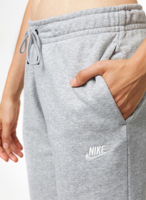 Kleding Nike Pantalon Femme Fleece Nike Sportswear Essential Grijs voorkant