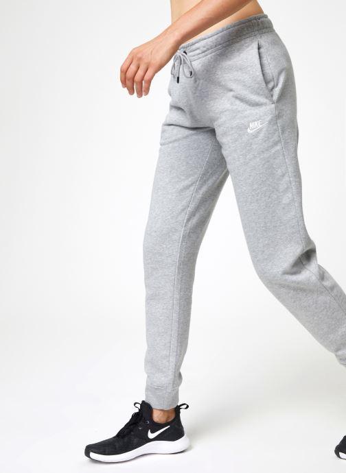 Vêtements Nike Pantalon Femme Fleece Nike Sportswear Essential Gris vue détail/paire