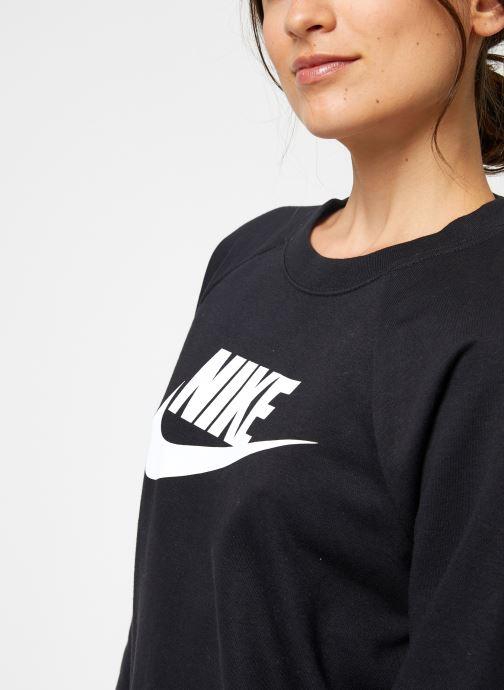 Vêtements Nike Sweat Femme Nike Sportswear Essential Noir vue face