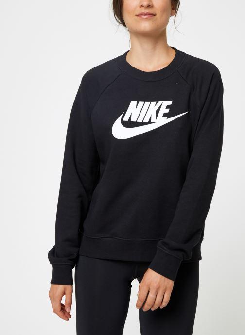 Vêtements Nike Sweat Femme Nike Sportswear Essential Noir vue droite
