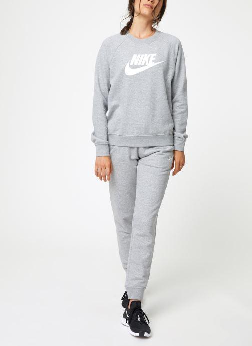 Vêtements Nike Sweat Femme Nike Sportswear Essential Gris vue bas / vue portée sac