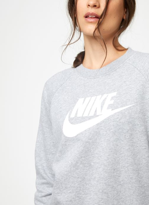 Kleding Nike Sweat Femme Nike Sportswear Essential Grijs voorkant