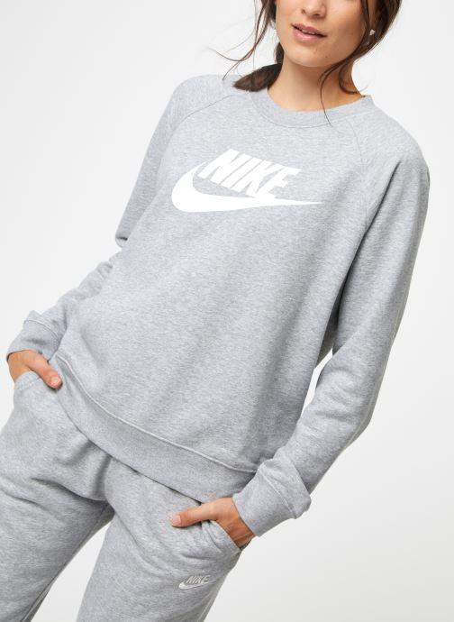 Vêtements Nike Sweat Femme Nike Sportswear Essential Gris vue détail/paire