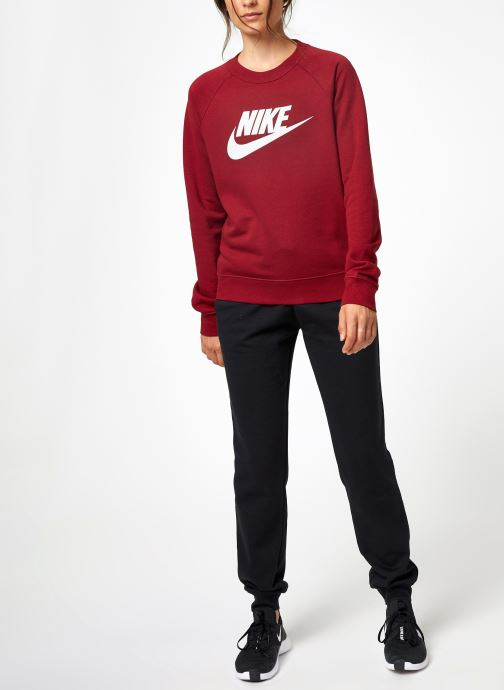 Kleding Nike Sweat Femme Nike Sportswear Essential Bordeaux onder