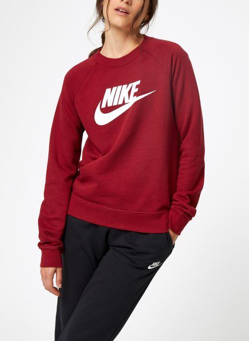 Kleding Nike Sweat Femme Nike Sportswear Essential Bordeaux rechts