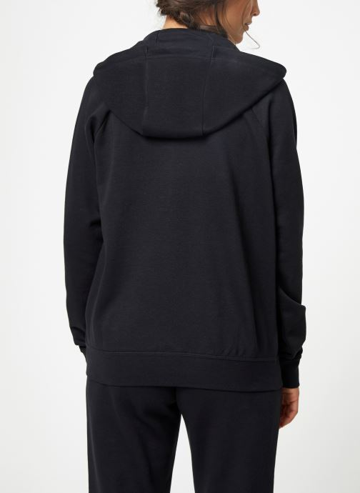 Vêtements Nike Pull Fleece Femme Nike Sporstwear Essential Noir vue portées chaussures