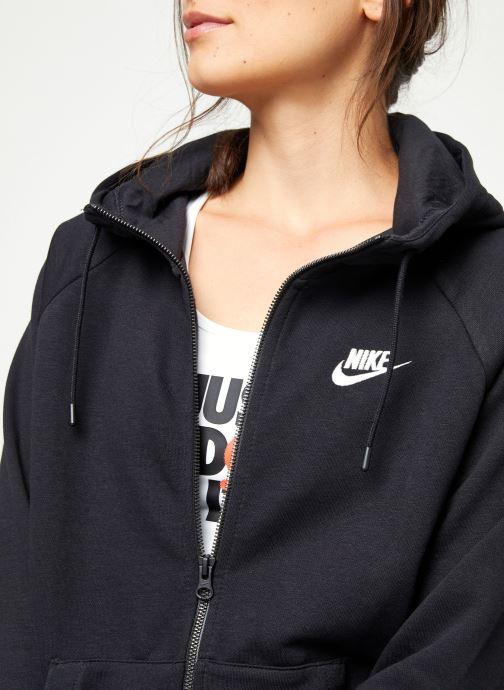 Vêtements Nike Pull Fleece Femme Nike Sporstwear Essential Noir vue face