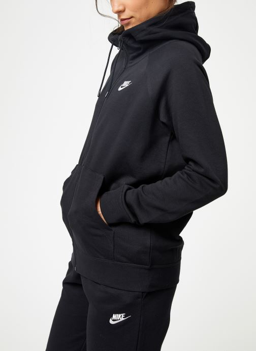 Vêtements Nike Pull Fleece Femme Nike Sporstwear Essential Noir vue droite