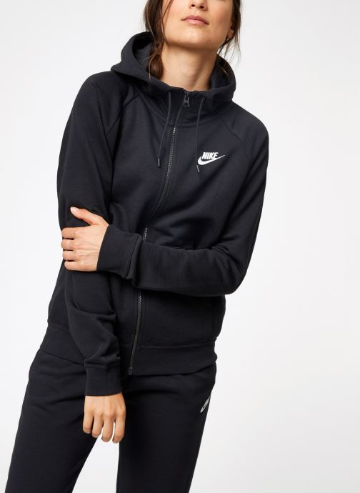 Vêtements Nike Pull Fleece Femme Nike Sporstwear Essential Noir vue détail/paire