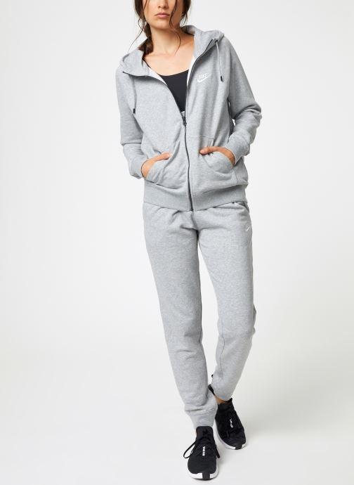 Vêtements Nike Veste Fleece Femme Nike Sporstwear Essential Gris vue bas / vue portée sac
