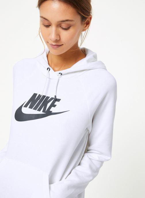 Vêtements Nike Sweat à capuche Femme Nike Sportswear Essential Blanc vue détail/paire
