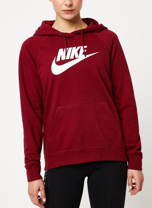 Vêtements Nike Sweat à capuche Femme Nike Sportswear Essential Bordeaux vue détail/paire